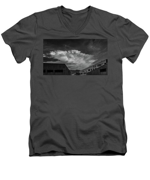 Cloudy Sky Over Bolzano Men's V-Neck T-Shirt