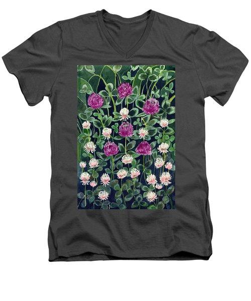 Clover Men's V-Neck T-Shirt
