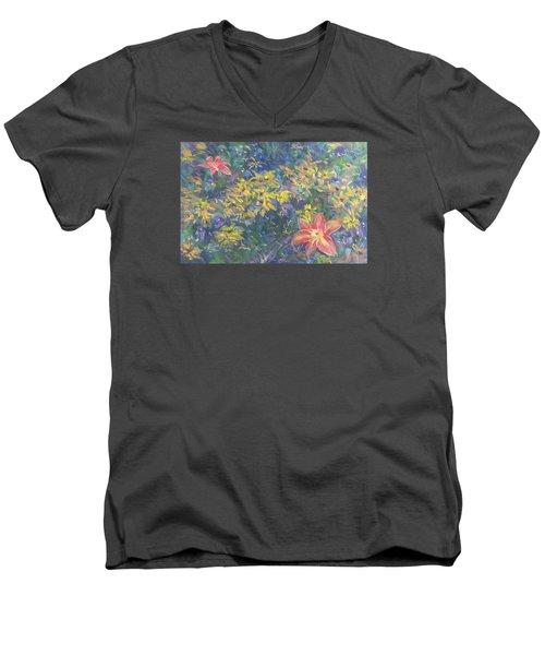 Clusters Men's V-Neck T-Shirt