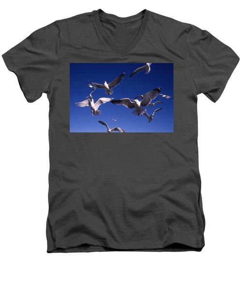 Cnrg0302 Men's V-Neck T-Shirt