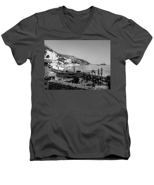 Coast Of Dubrovnik Men's V-Neck T-Shirt