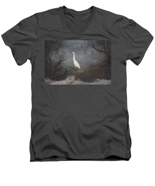 Coastal Birds Men's V-Neck T-Shirt