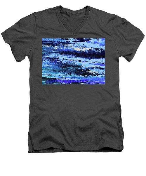 Coastal Breeze Men's V-Neck T-Shirt
