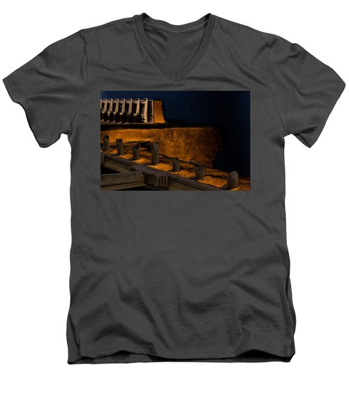Coastal Embankment Men's V-Neck T-Shirt