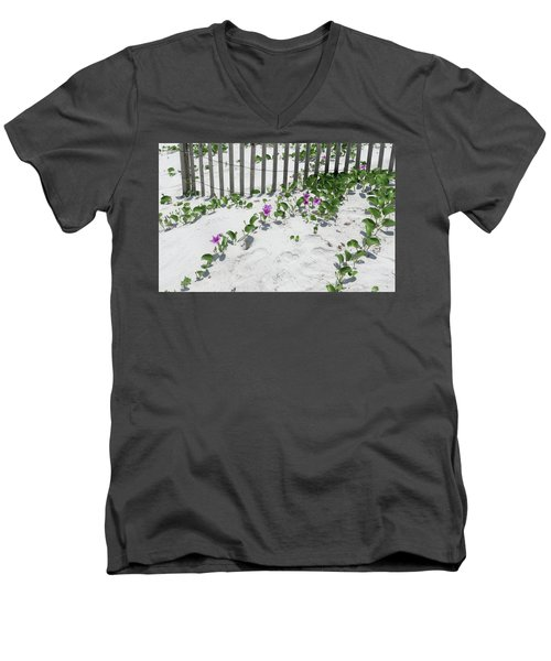 Coastal Flowers Men's V-Neck T-Shirt