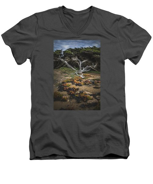 Coastal Guardian Men's V-Neck T-Shirt