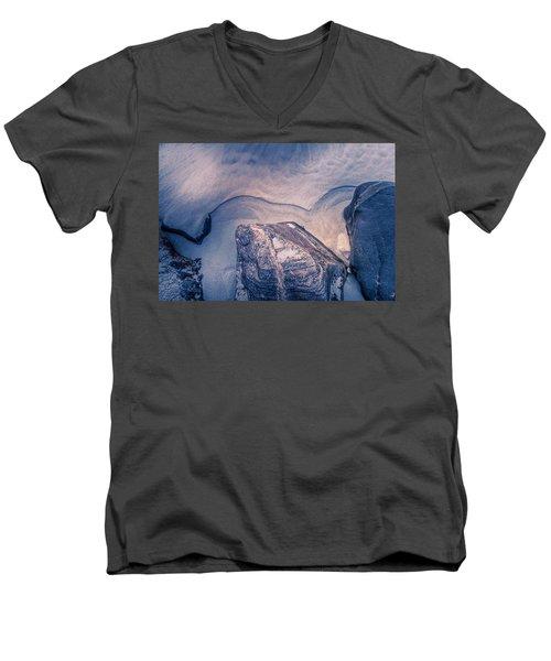 Coastal Rocks Men's V-Neck T-Shirt