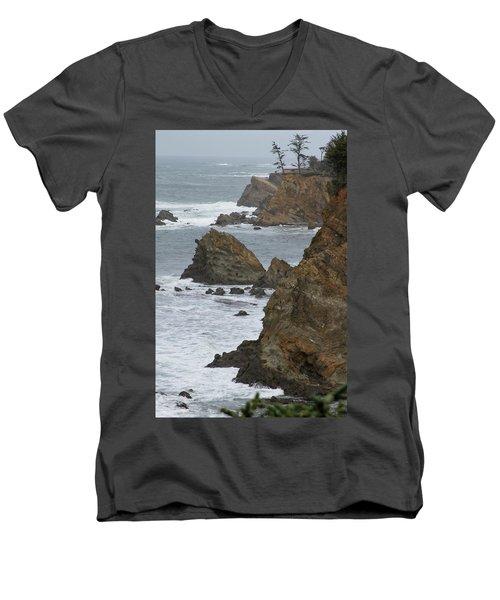 Coastal Storm Men's V-Neck T-Shirt