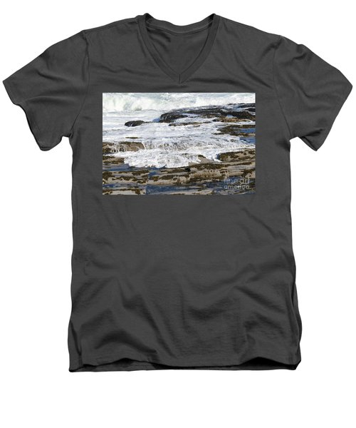 Coastal Washout Men's V-Neck T-Shirt