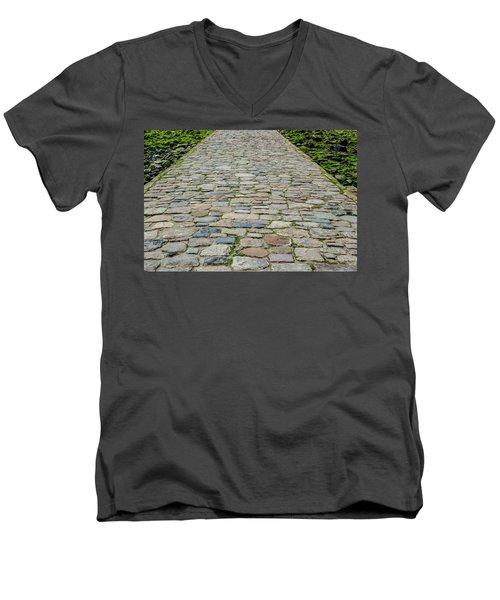 Cobbled Causeway Men's V-Neck T-Shirt