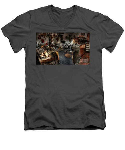 Cobbler's Shop Men's V-Neck T-Shirt