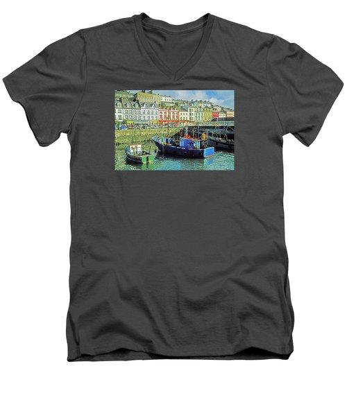 Cobh Harbour Men's V-Neck T-Shirt