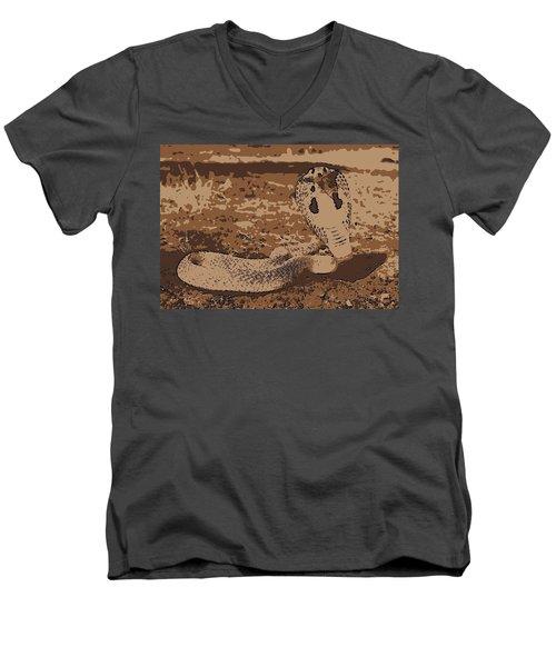 Cobra Love Men's V-Neck T-Shirt
