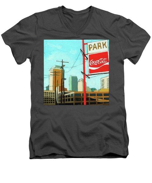 Coca Cola Park Men's V-Neck T-Shirt