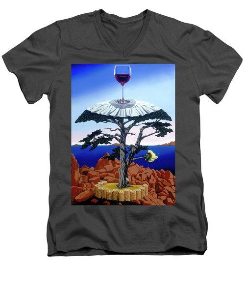Cocktail Hour Men's V-Neck T-Shirt
