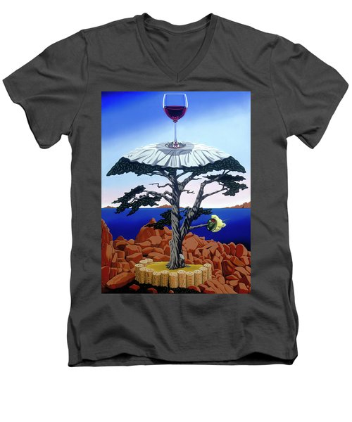 Cocktail Hour Men's V-Neck T-Shirt