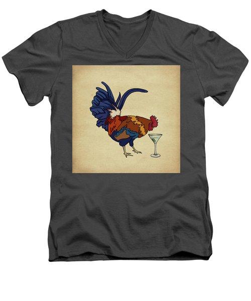 Cocktails Men's V-Neck T-Shirt