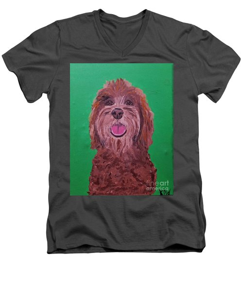 Coco Date With Paint Nov 20th Men's V-Neck T-Shirt