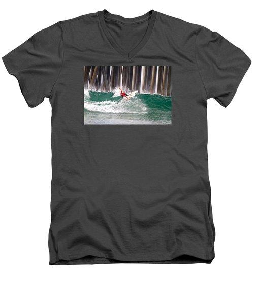 Coco Ho Surfer Girl Men's V-Neck T-Shirt