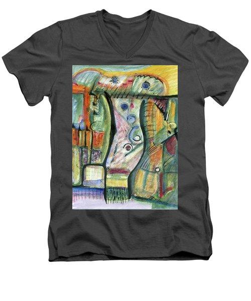 Coco Palm Men's V-Neck T-Shirt