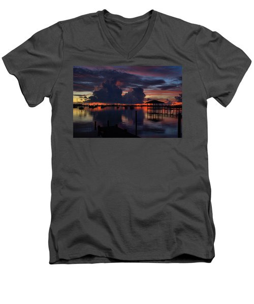 Cocoa Bay Men's V-Neck T-Shirt