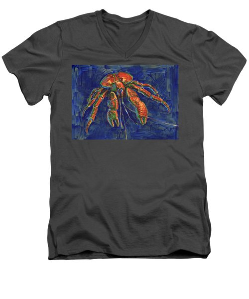 Coconut Crab Men's V-Neck T-Shirt