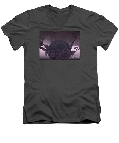 Cocoon Men's V-Neck T-Shirt by Melissa Messick