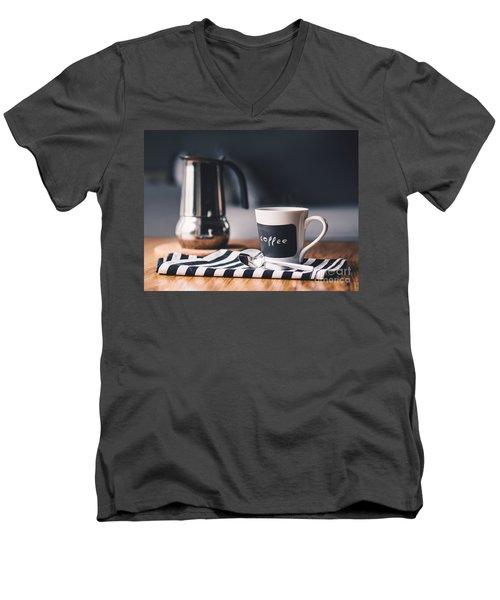 Coffee #5  Men's V-Neck T-Shirt