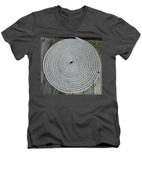Coiled By D Hackett Men's V-Neck T-Shirt by D Hackett