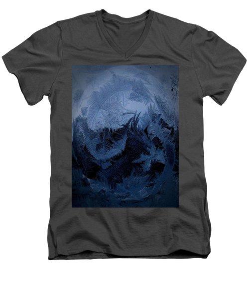 Cold Moon Rising Men's V-Neck T-Shirt