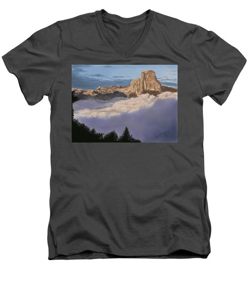 Cold Mountains Men's V-Neck T-Shirt