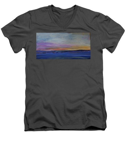 Cold Night Coming Soon Men's V-Neck T-Shirt