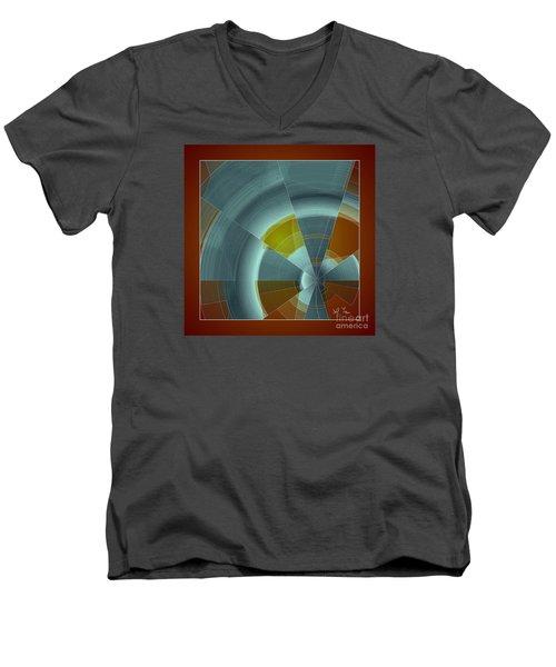 Cold Rays Men's V-Neck T-Shirt by Leo Symon