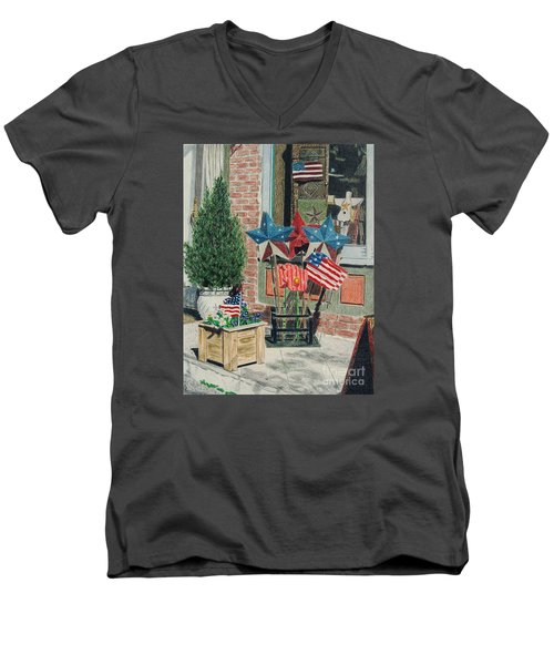 Cold Spring Window Left Men's V-Neck T-Shirt