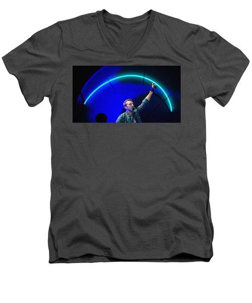 Coldplay3 Men's V-Neck T-Shirt by Rafa Rivas