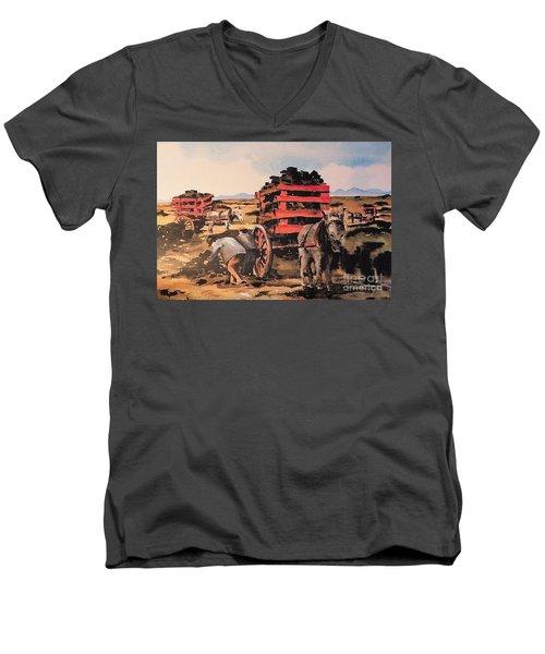 Collecting Turf  Men's V-Neck T-Shirt