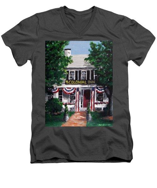 Colonial Inn Men's V-Neck T-Shirt