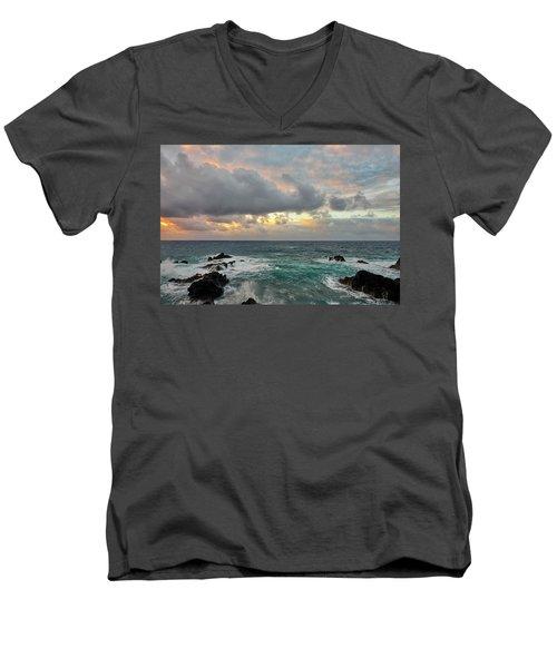 Color In Maui Men's V-Neck T-Shirt