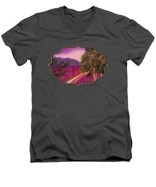 Color It Purple Men's V-Neck T-Shirt
