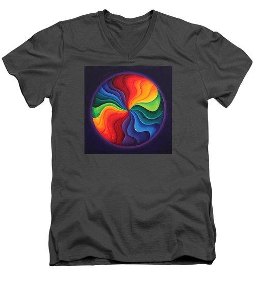 Color Joy Men's V-Neck T-Shirt