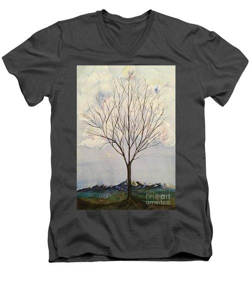 Colorado Cottonwood Men's V-Neck T-Shirt