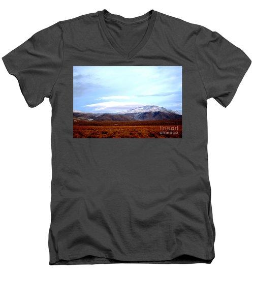 Colorado Mountain Vista Men's V-Neck T-Shirt