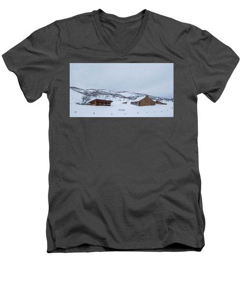 Colorado Ranch Men's V-Neck T-Shirt