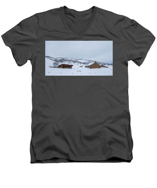 Colorado Ranch Men's V-Neck T-Shirt
