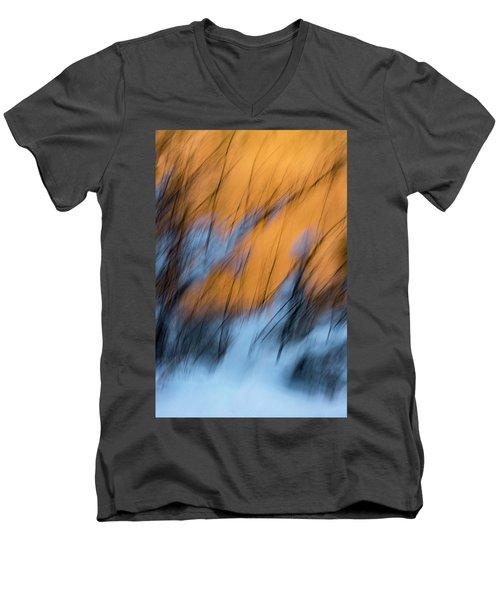Colorado River Snow Banks Men's V-Neck T-Shirt