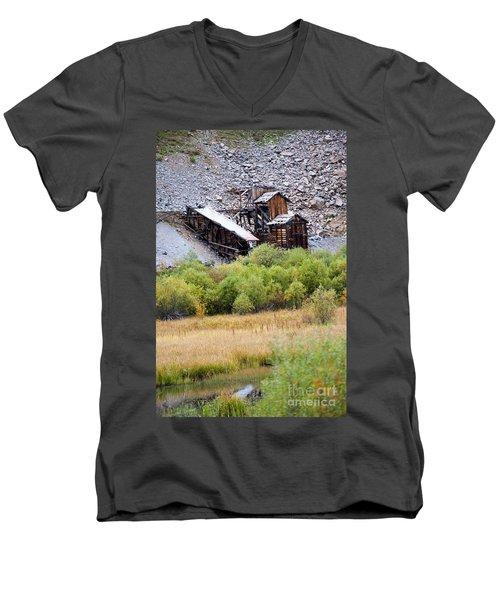 Colorado Silver Mine  Men's V-Neck T-Shirt