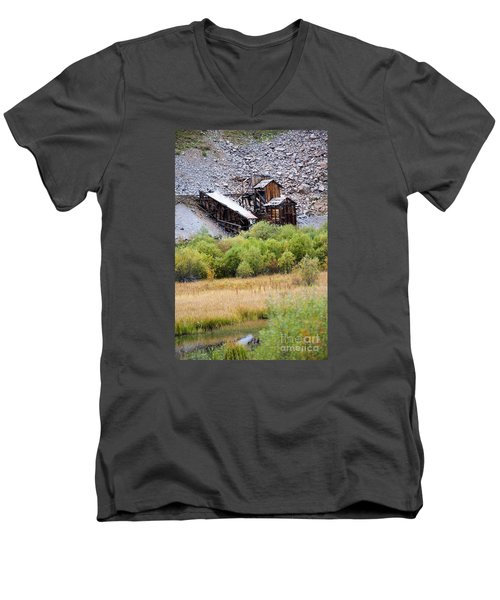 Colorado Silver Mine  Men's V-Neck T-Shirt