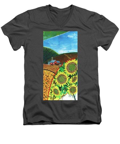 Colorado Sunflowers Men's V-Neck T-Shirt