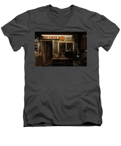Colored Cafe Men's V-Neck T-Shirt