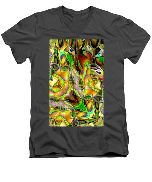 Colored Film Men's V-Neck T-Shirt